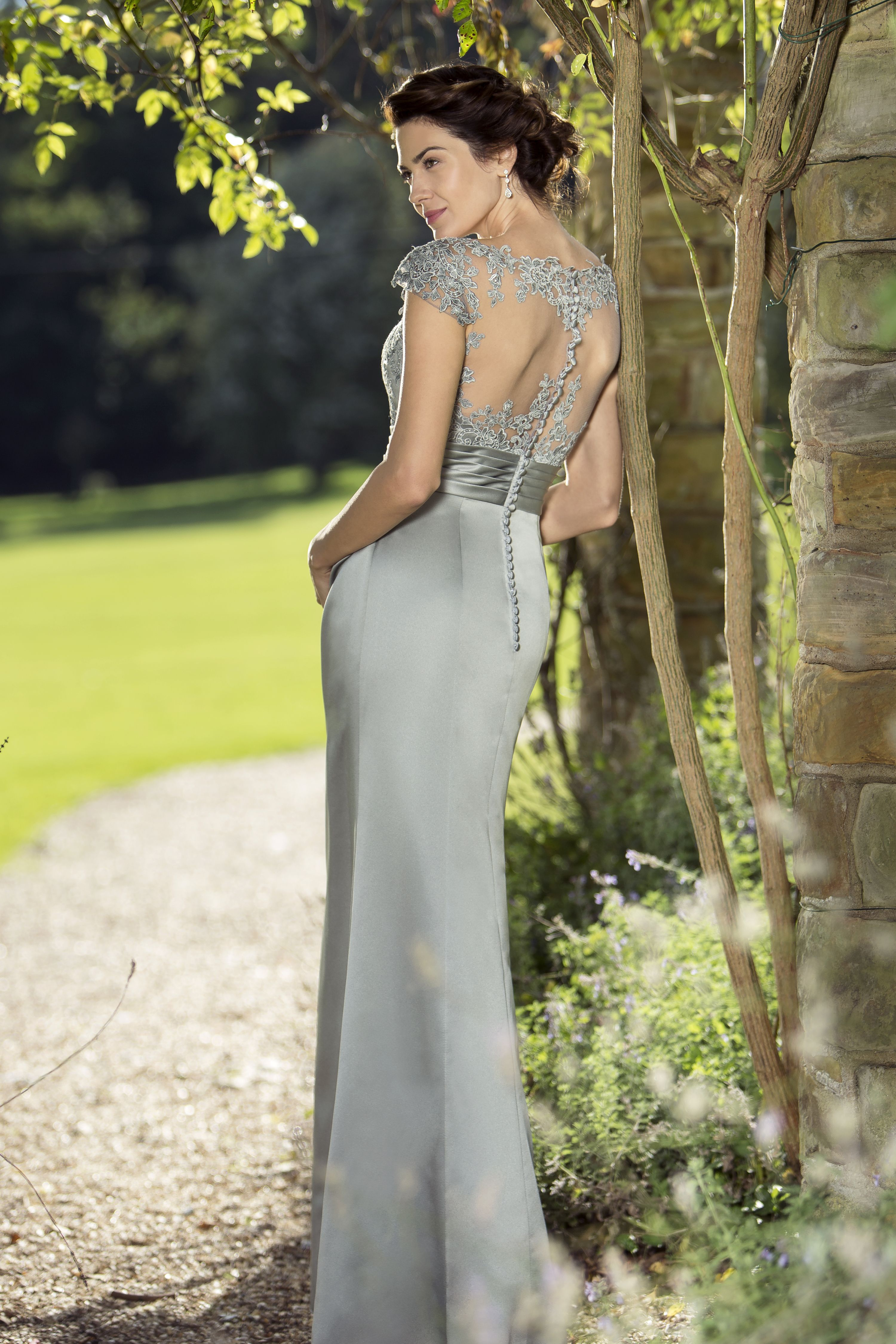 M663 new 2016 collection in stores from november slim and m663 new 2016 collection in stores from november slim and sophisticated satin bridesmaid dress with a sheer tulle boat neckline and pretty beaded lace ombrellifo Image collections