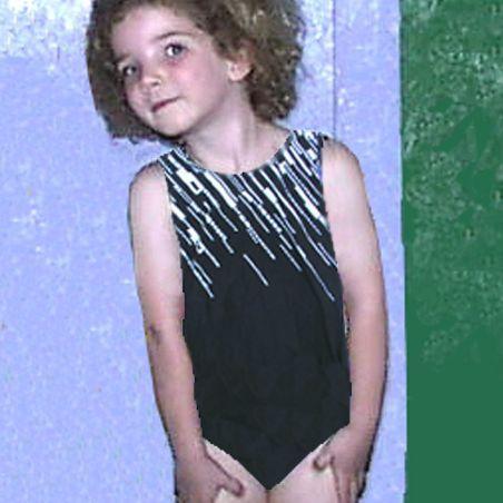 ee6dc730cd12 Girls Gymnastics Leotard Child size Sizes 4 5 6 7 8 9 10 11 12 Black ...