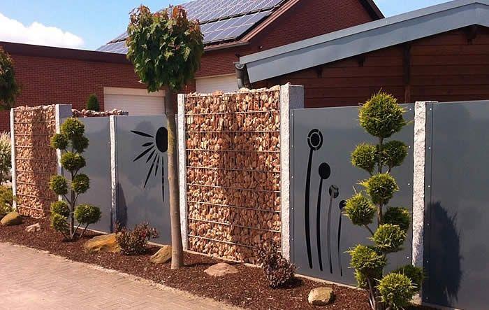 Unsere motivw nde sehen nicht nur gut aus sie helfen auch den garten zu strukturieren sch tzen - Garten strukturieren ...