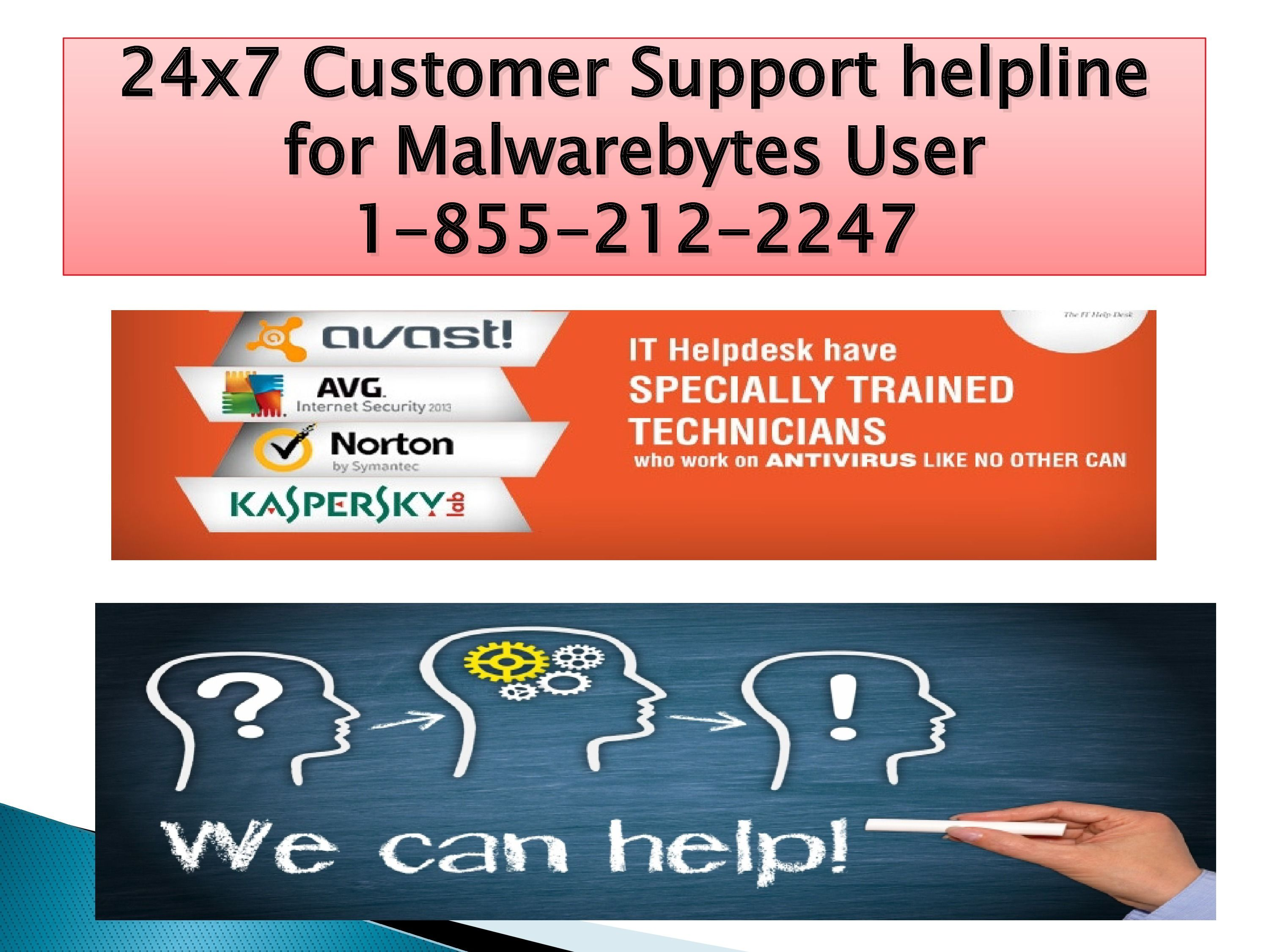 Tech Support and help for Malwarebytes user if they face