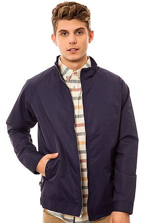 The Carroll Sig Jacket in Navy by Fourstar Clothing