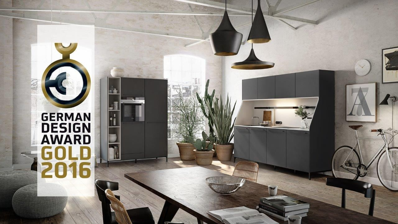 SieMatic URBAN / SieMatic 29: SieMatic 29 is the latest, surprisingly versatile reinterpretation of the traditional kitchen sideboard, the furniture piece that won the company its first success after its founding in 1929 in the city of Löhne in eastern Westphalia, Germany. The unmistakable silhouette and delicate legs distinguish the timelessly elegant, solitaire character of this piece of furniture, which was developed in cooperation with the young Berlin design team KINZO.