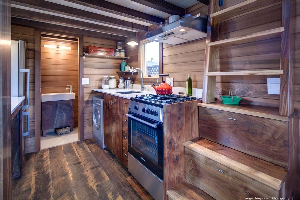Inside Tiny House On Wheels a peek inside mike & laura's 160 square foot portland tiny house