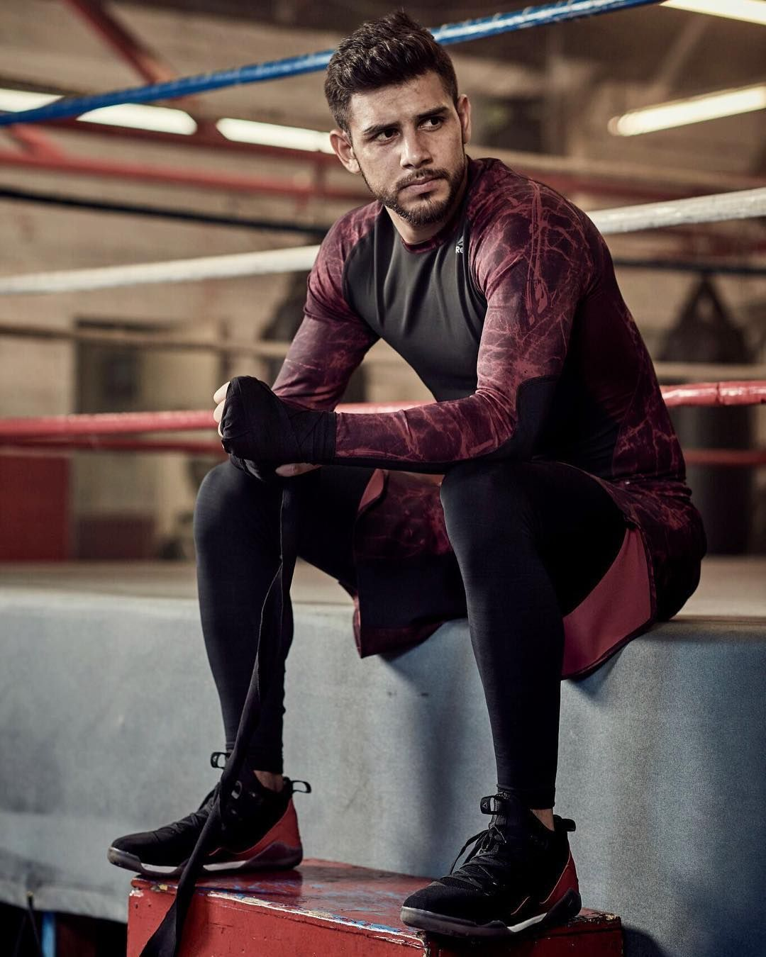 The fight begins outside the ring. The new Reebok Combat Noble ... 781d5f73e