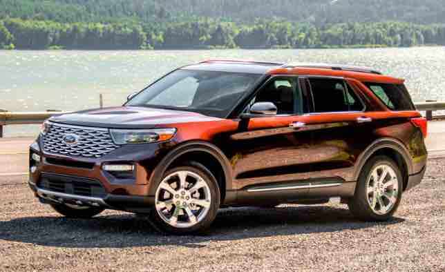 2021 Ford Explorer Platinum Reviews Ford Explorer Ford Large Suv