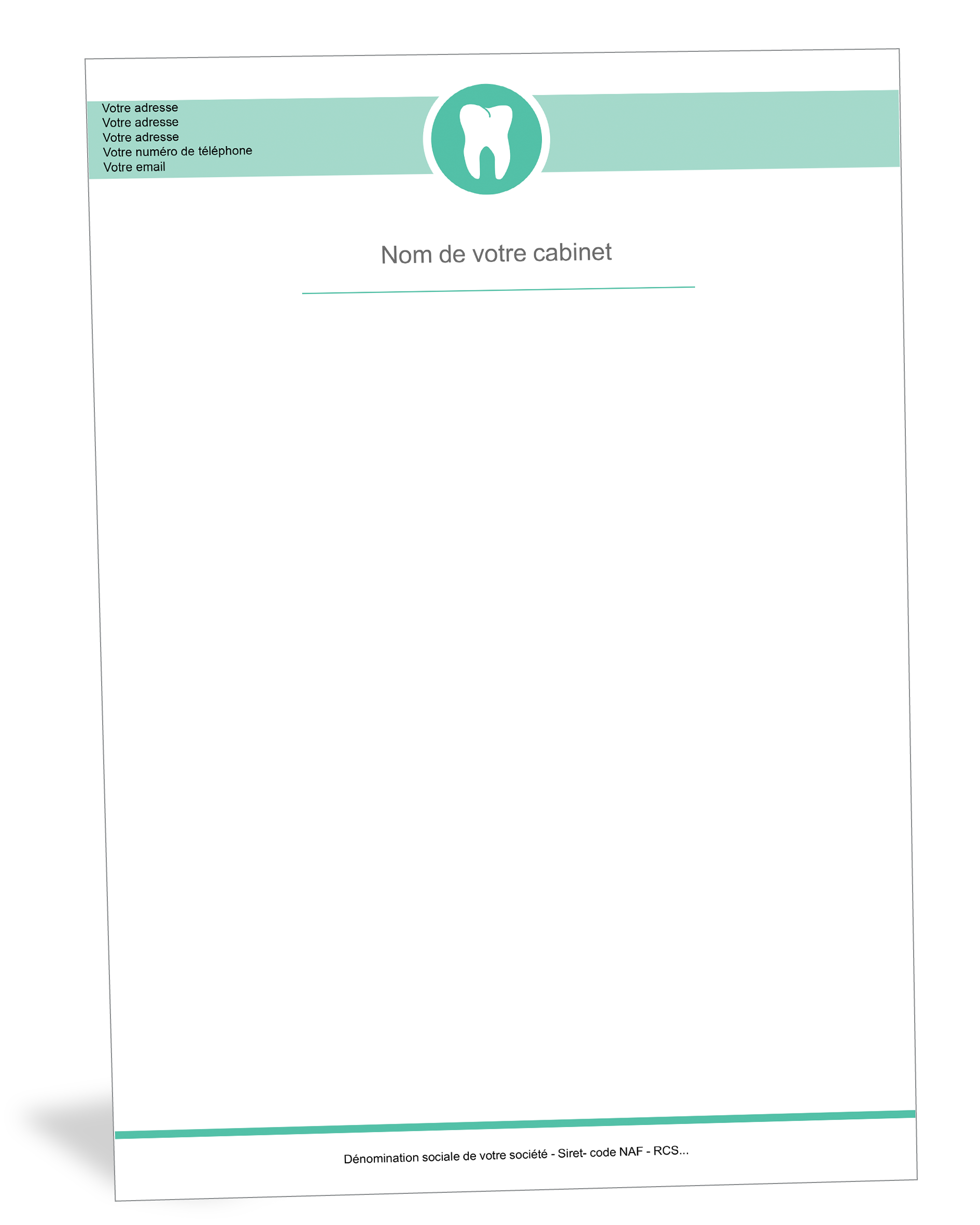 Papier A En Tete Dentiste Bar Chart Chart Limoges