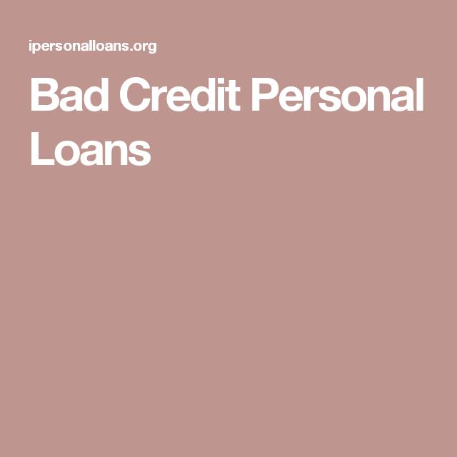 Bad Credit Personal Loans Bad Credit Personal Loans Personal Loans Bad Credit
