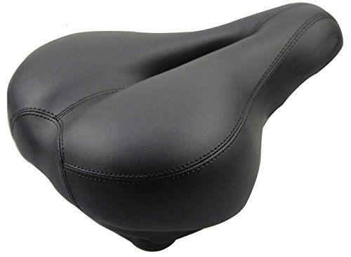 Faswin Comfortable Bicycle Suspension Saddle Bike Seat Gel Saddle, Black ** Check out @ http://www.amazon.com/gp/product/B013JLRUW2/?tag=fitnessztore-20&pij=060816130417