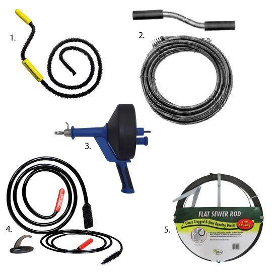 Homekeeping Essential Drain Augers Homekeeping Cleaning Tools Drain