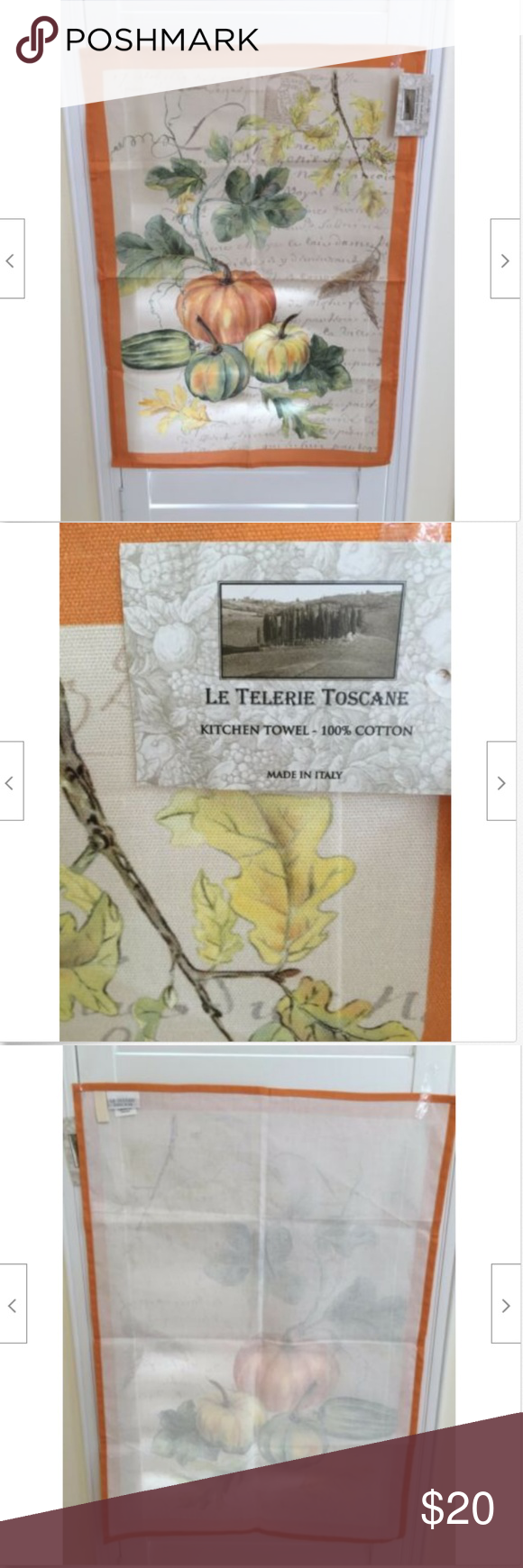 Le Telerie Toscane Made In Italy Kitchen Towel Kitchen Towels