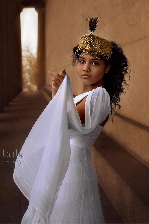 Hera Greek Goddess Marriage Queen Couture Headpiece