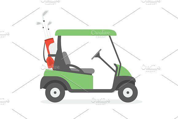 golf cart golf stationery golf poster golf post card golf printing