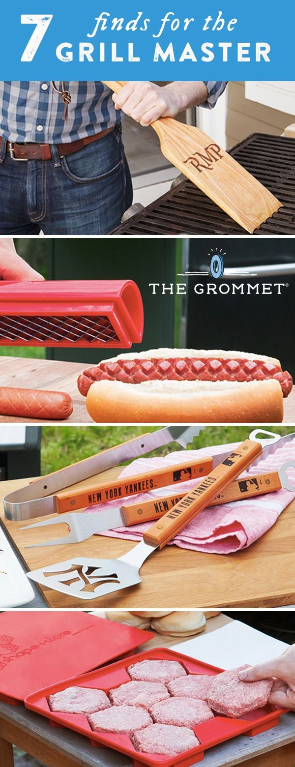 The Grommet discovers seven products that will turn you into a grill master this summer. The best BBQ tools and gadgets for your next cookout.