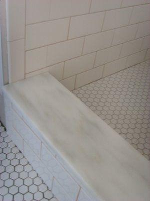 Marble In Bathroom Shower Curb Marble Tile Bathroom