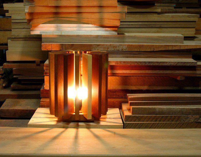 designer lampe holz gefaßt bild der eecdabbfddd