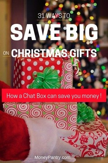 31 Ways to Save Money on Christmas Gifts (9 Is the Best Kept Secret