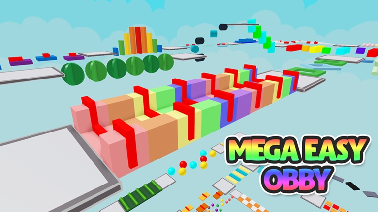 (21) Mega Easy Obby 🌟 500 Stages! Roblox in 2020