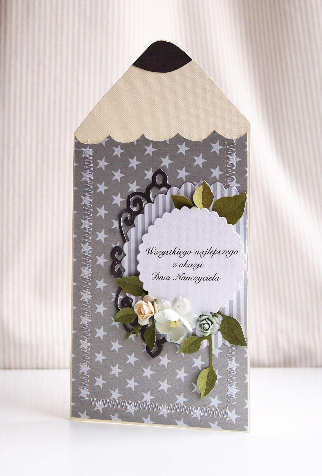 Tak Tak To Juz Niebawem 14 Pazdziernika To Dzien Nauczyciela To Z Mysla O Nich Powstal Teachers Day Greeting Card Teachers Day Greetings Crafts For Kids