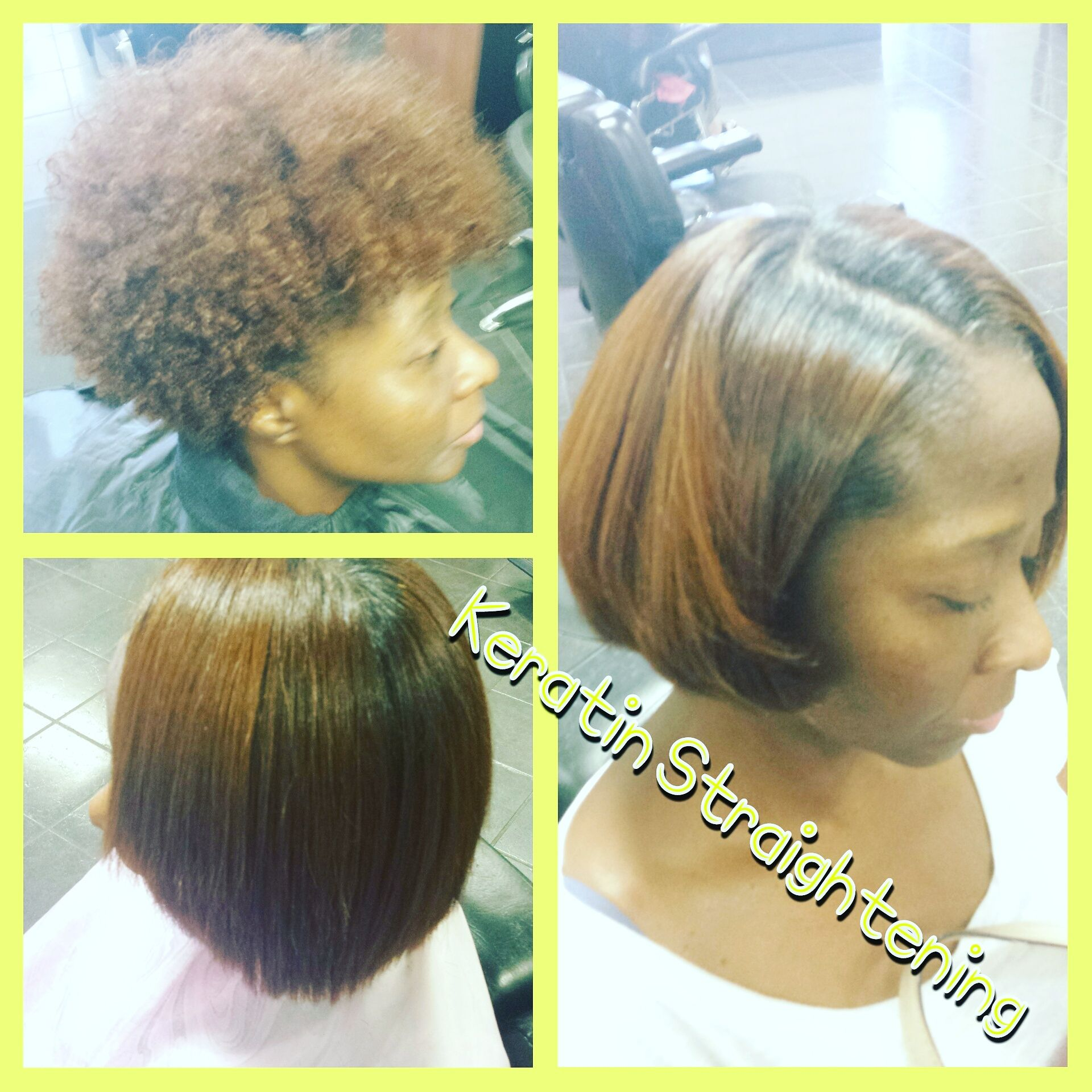 Keratin hair straightening at trendz by tammy hair salon for Salon kerat in