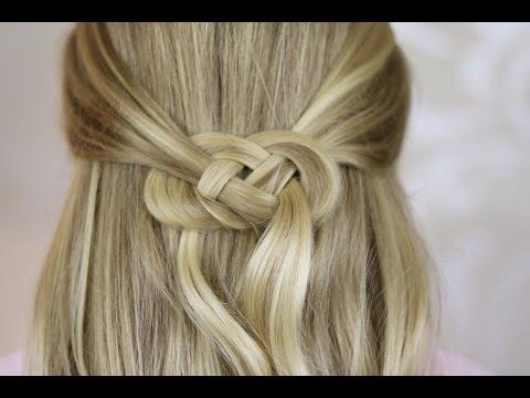Celtic Knot English Youtube Celtic Hair Hair Knot Tutorial Easy Hair Updos
