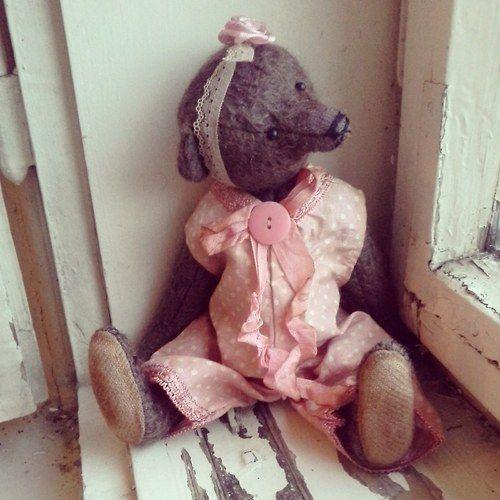 Teddy Babeta von GrannysTeddyBears auf DaWanda.com