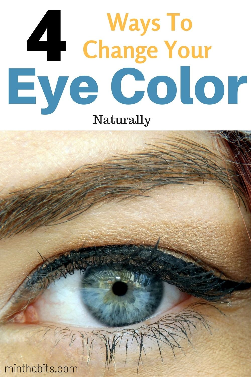 How to naturally change your eye color to green