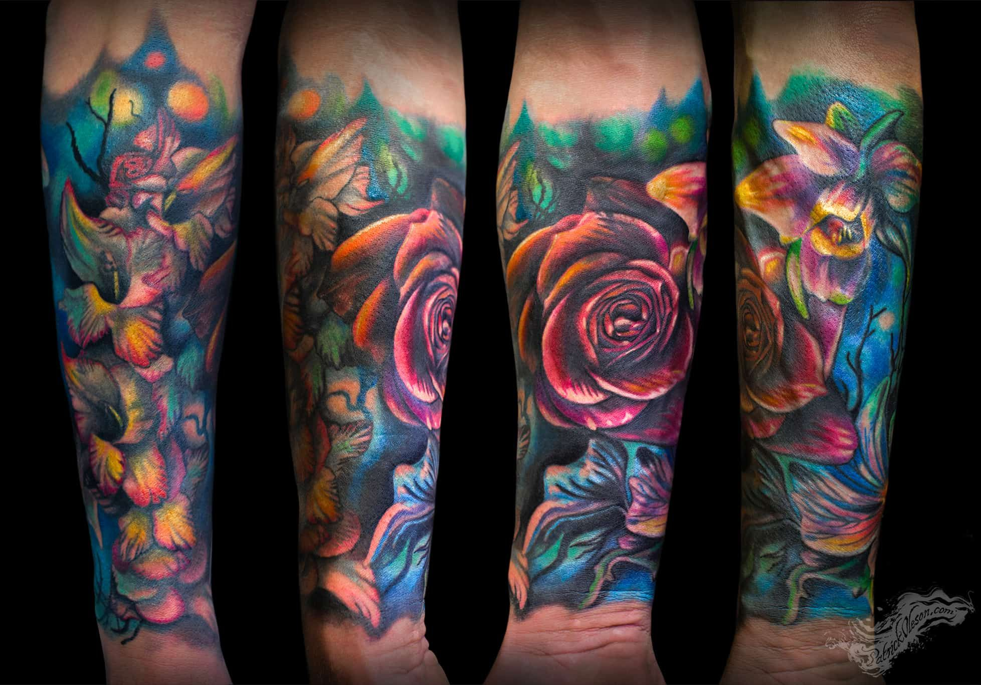 Green fox tattoo realistic tattoo shop in omaha ne