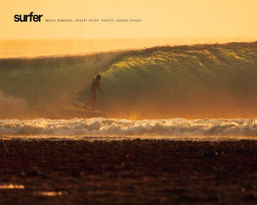 Beautiful Barrel Surfer Magazine Surfing Surfing Waves