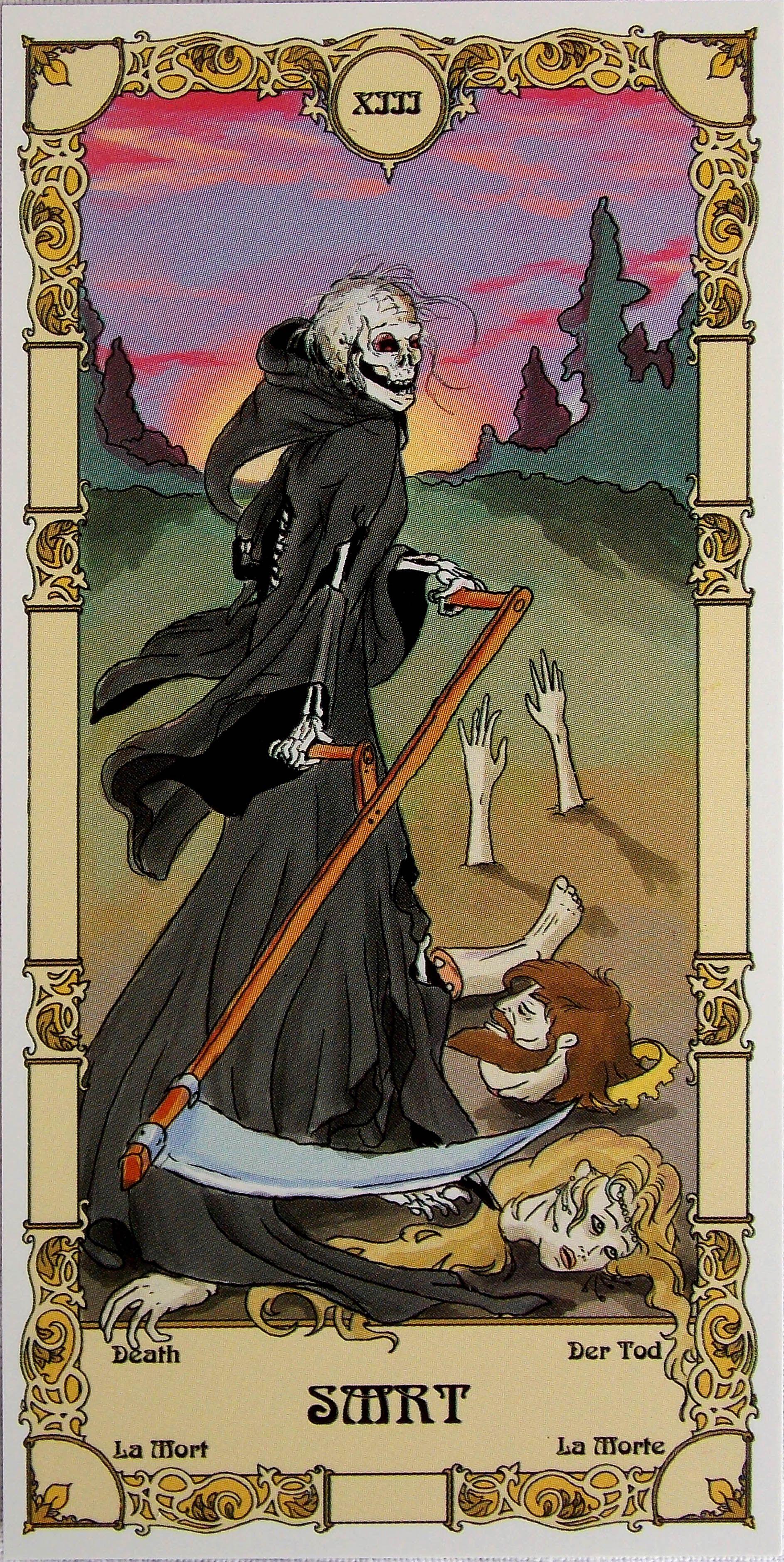 Czech Grand Arcana Tarot. Major Arcana/22 + 2 Blank Cards