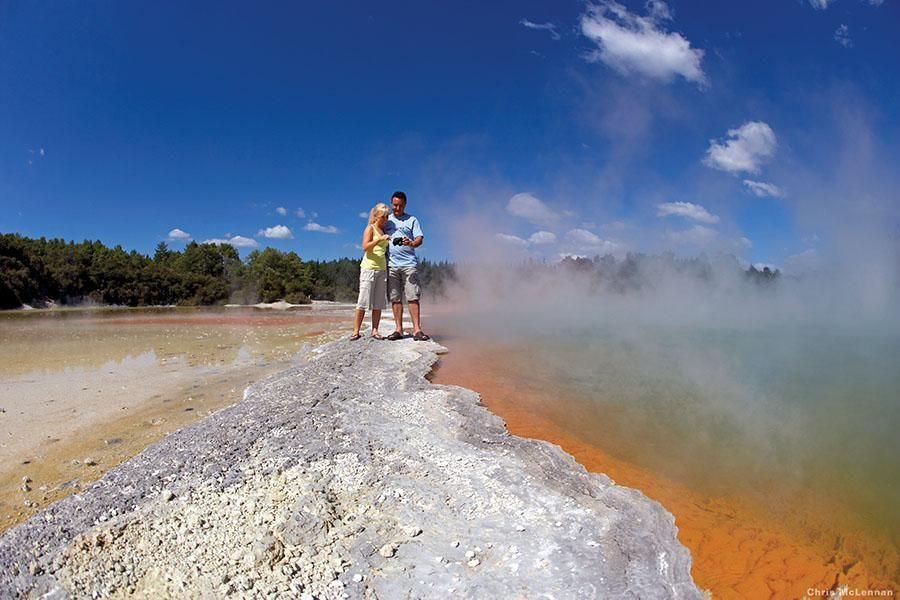 Geothermal hotpsots   Rotorua   North Island   New Zealand