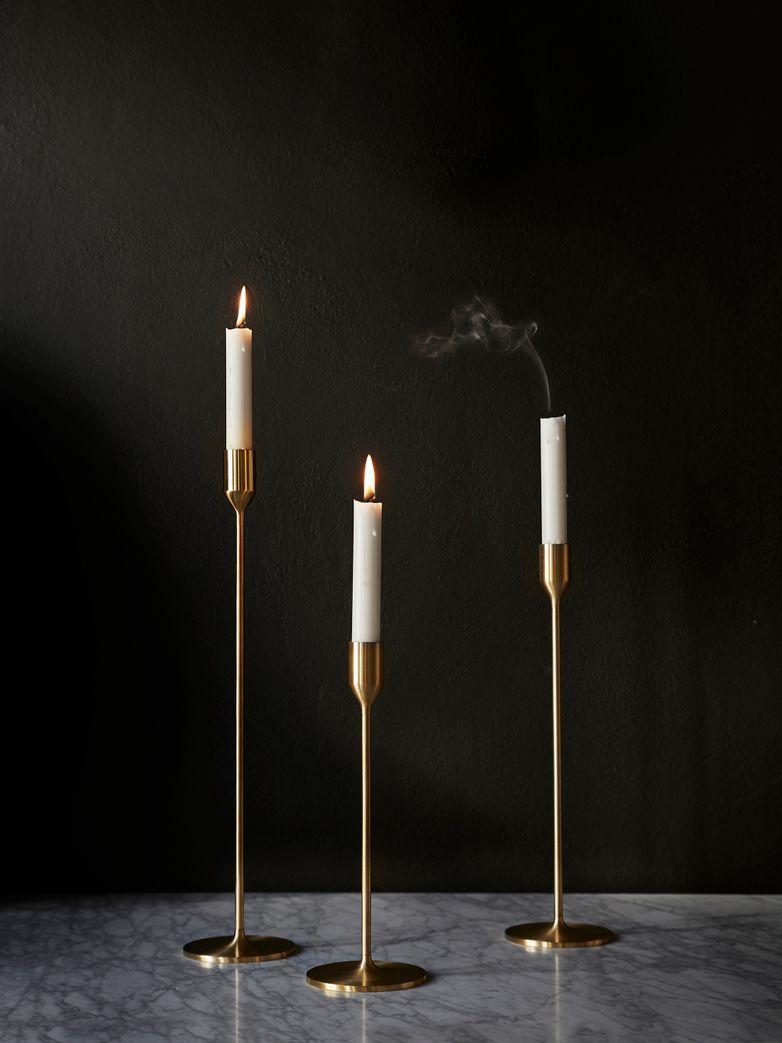 Artilleriet edition r hutten candle stick brass candle holder