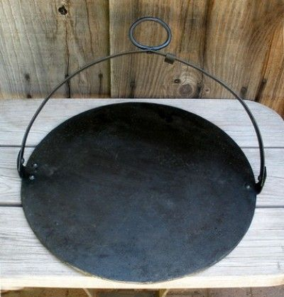 Antique 1800s Cast Iron Stella Scottish Bakestone Hanging Griddle Plate Pan 11 15 2012 Cast Iron Cookware Antique Cast Iron Cast Iron Griddle