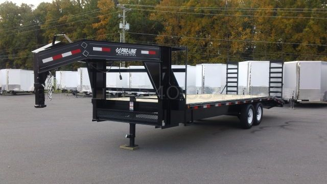 Open Gooseneck Trailers For Sale Pro Line Trailers Gooseneck Trailer Gooseneck Trailers For Sale Equipment Trailers