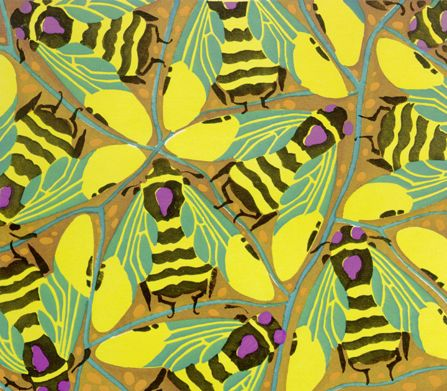 From The Insectes, a set of 20 insect prints produced by designer Eugene Alain Séguy circa 1928.
