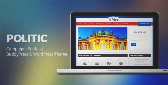 Politic Campaign Political Wp  Wordpress Theme  Download