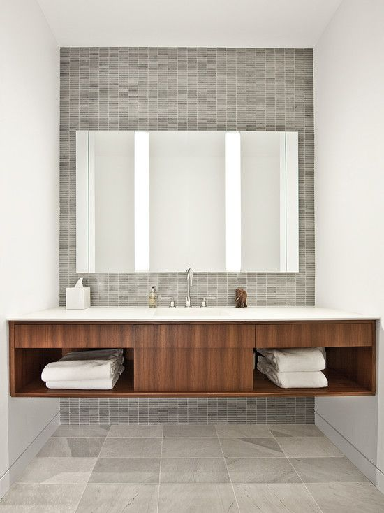 Ultra Modern Bathroom Sink Designs With Cabinet