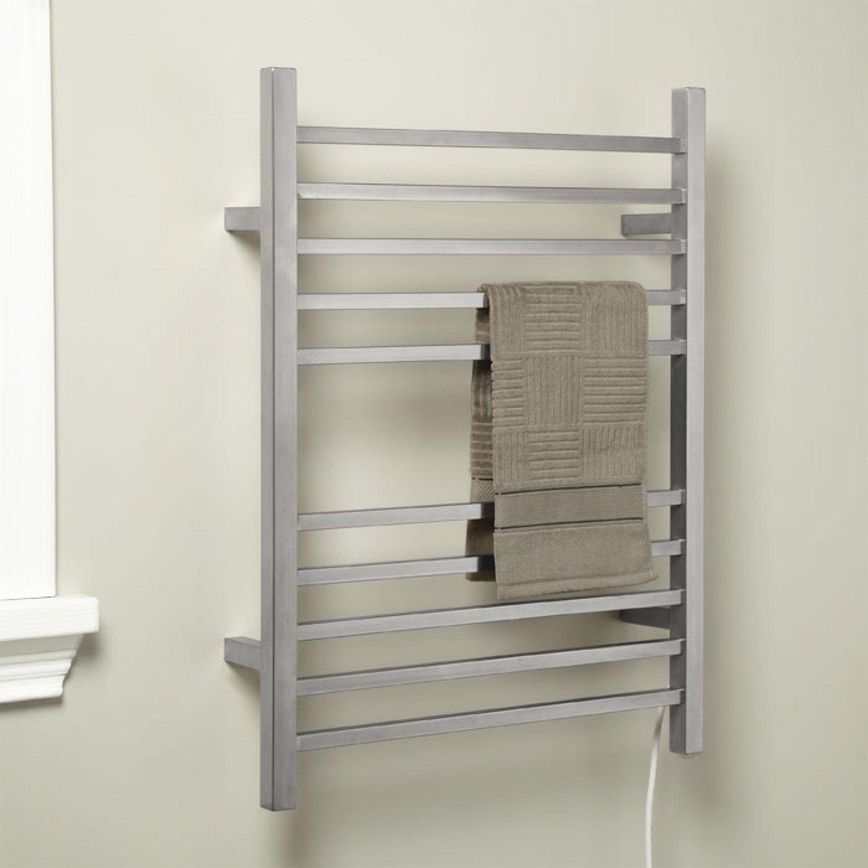 24 Pala Wall Mount Plug In Electric Towel Warmer