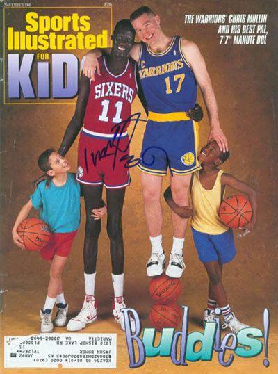 Manute Bol , tallest NBA player !