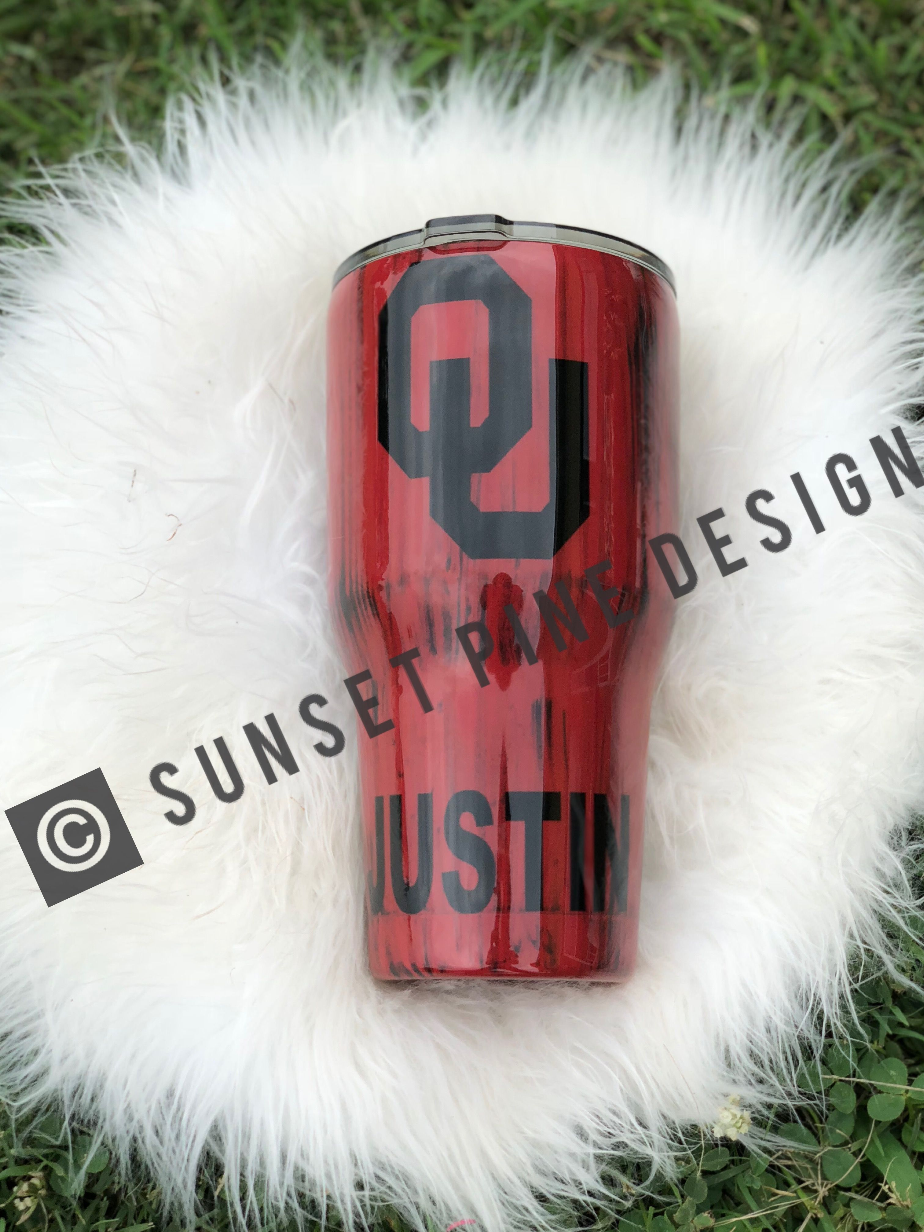 Oklahoma Sooners Tumbler Can Be Customized Sunsetpinedesign Boomersooner Ou Oklahoma Soo Oklahoma Photography Oklahoma Sooners Football Oklahoma Sooners