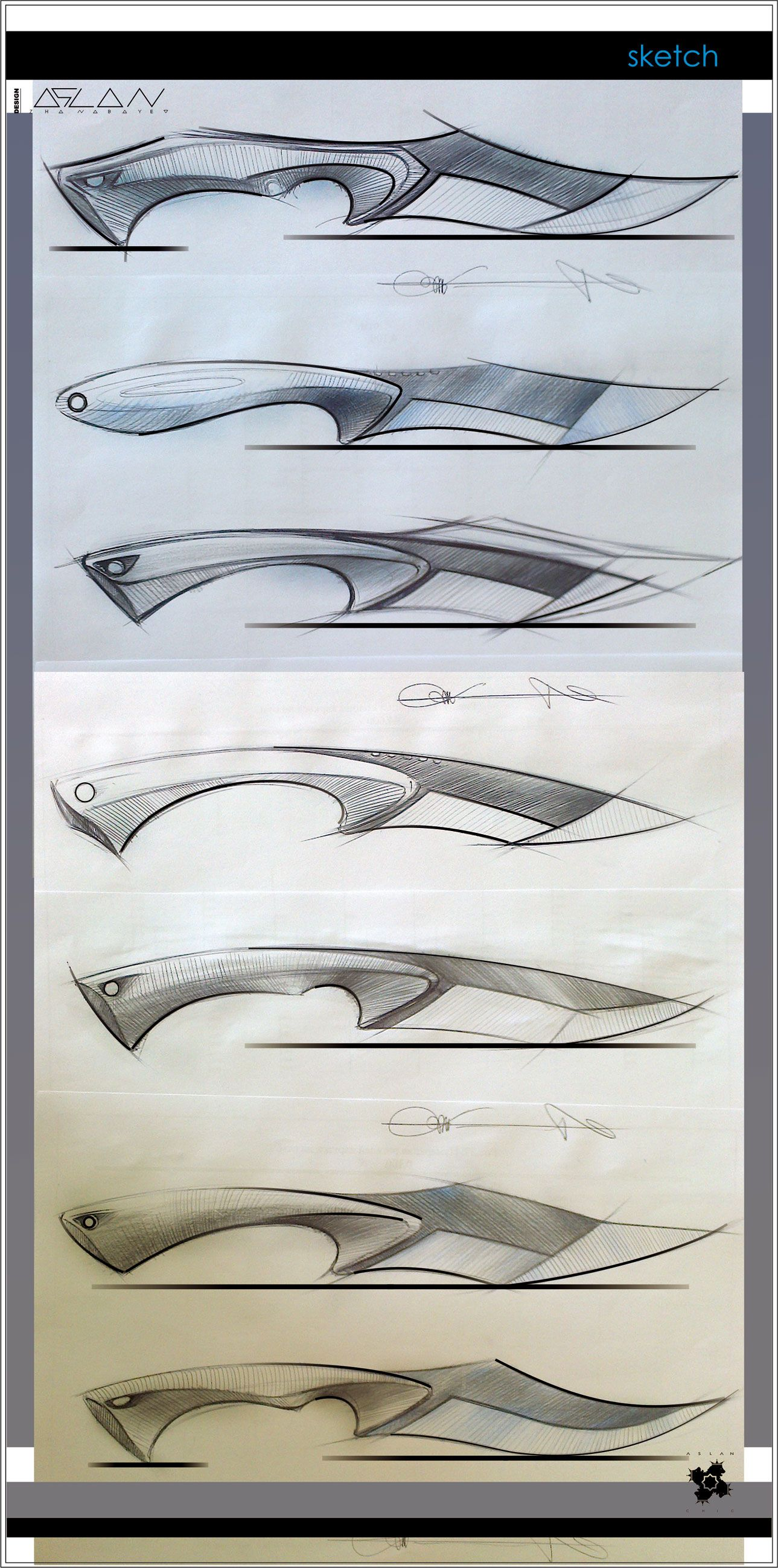 knife drawing designs - HD 1289×2598