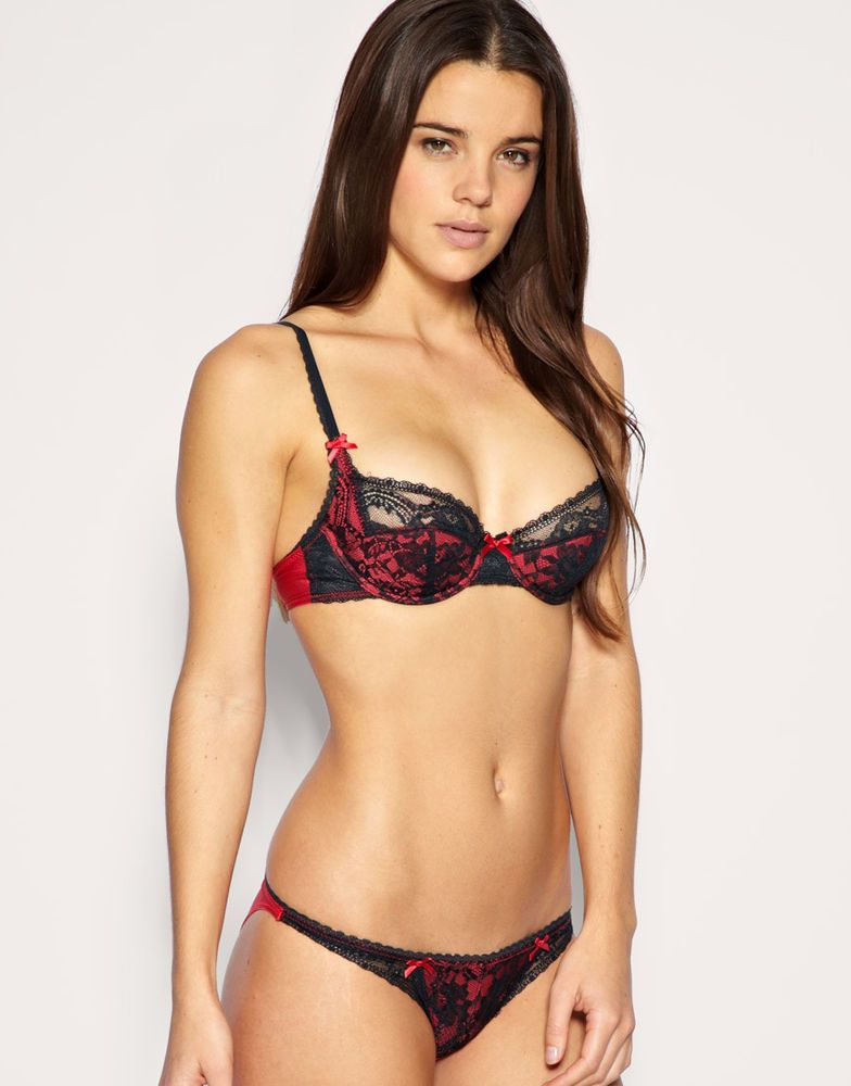 3b031dd6e8 Elle Macpherson Intimates Cup Cake Bikini Brief - Deep Orient Blue ...