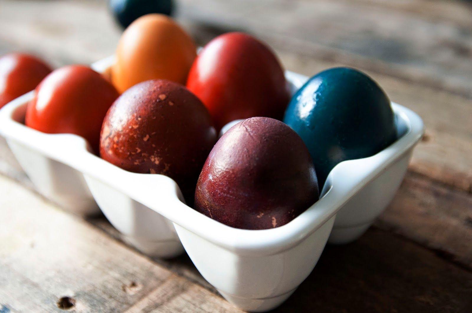 Odżywianie od kuchni: Naturalne barwniki do pisanek