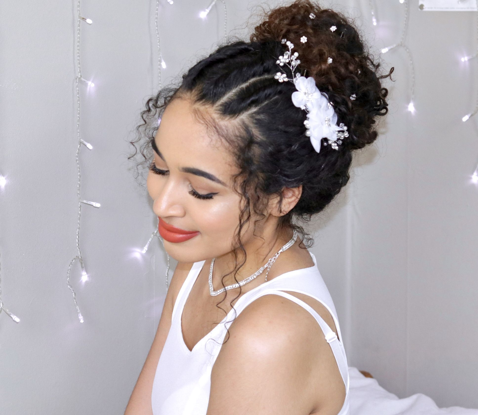 Formal Curly Hairstyles For Prom Naturally Curly Hair By Lana Summer Curly Hair Styles Hair Styles Formal Curly Hairstyles