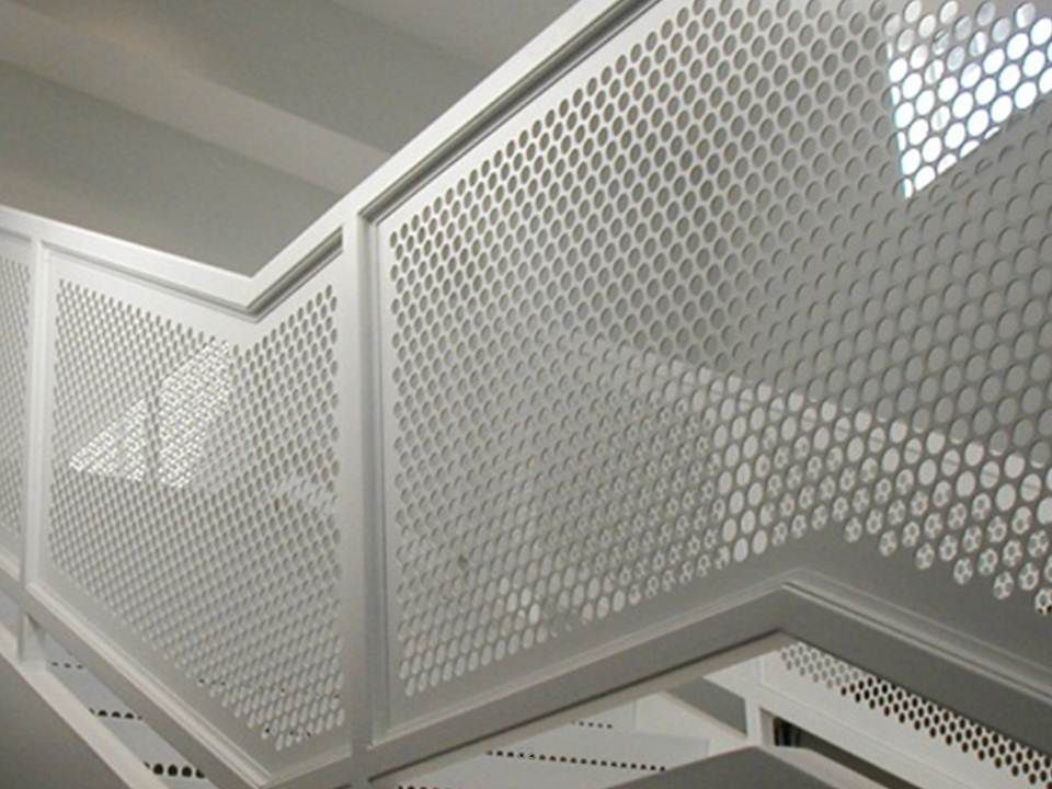 Custom Architectural Metal Wall Panels : Perforated metal panels architectural imgkid