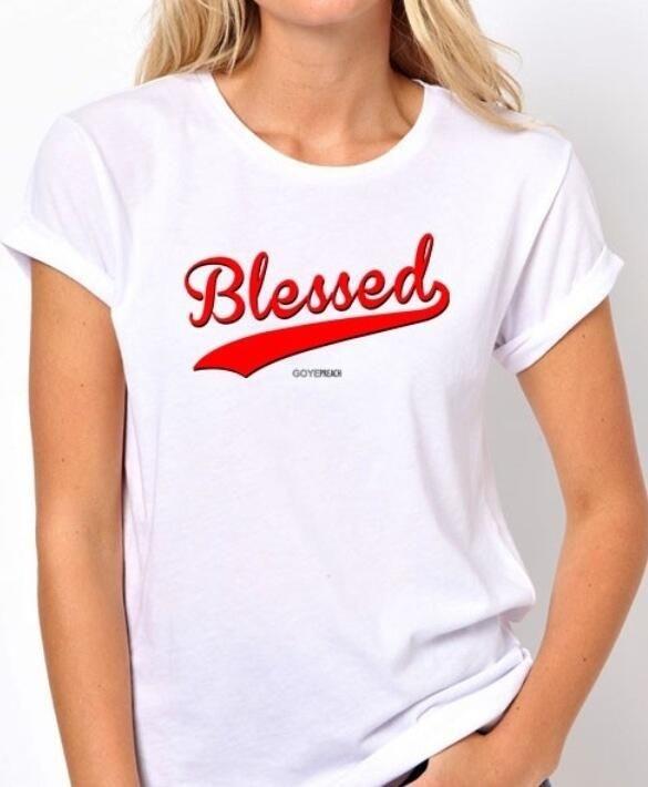 Blessed Christian T-Shirt #GoYePreach.com