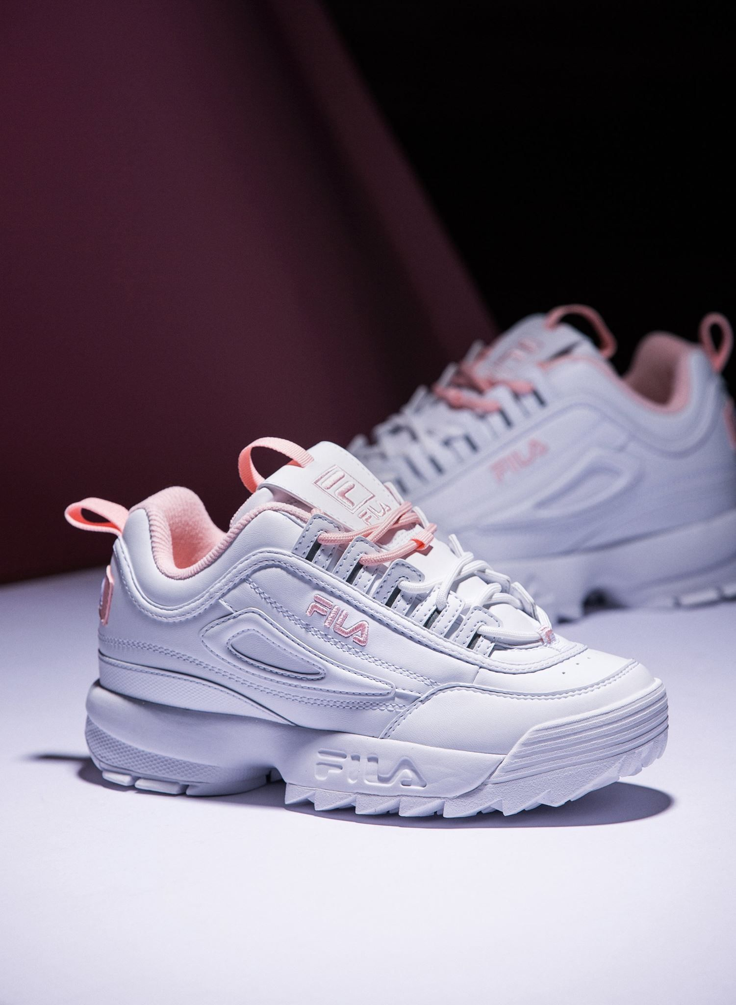 FILA #shoes #sneaker #style #running #white #pink | CUTE in ...