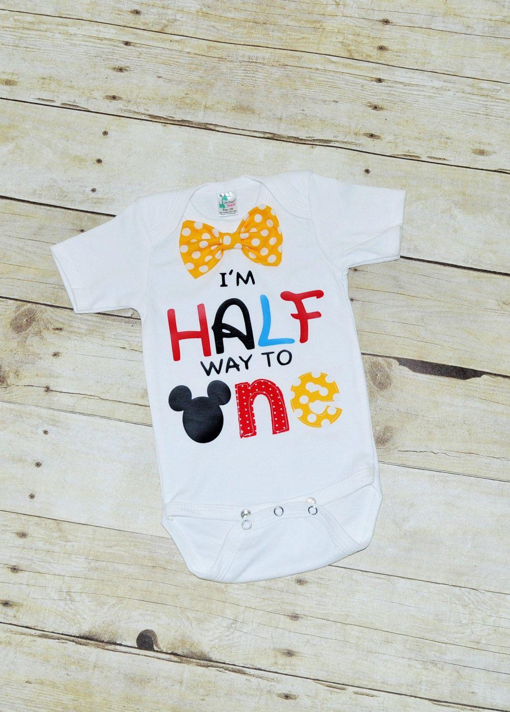 Its My Half Birthday Shirt 1 2 Birthday Bodysuit Half Birthday
