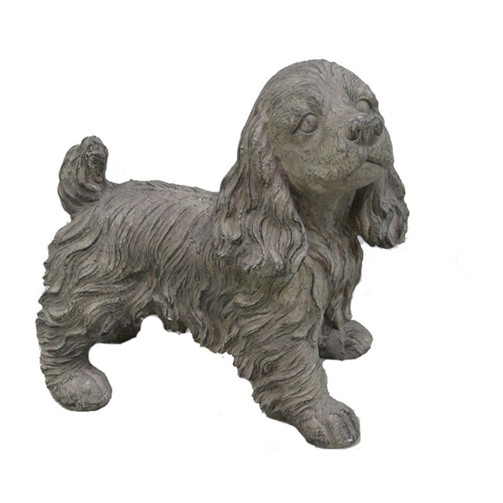 IMAX 53063 Oscar Stick Silver Dog Statue