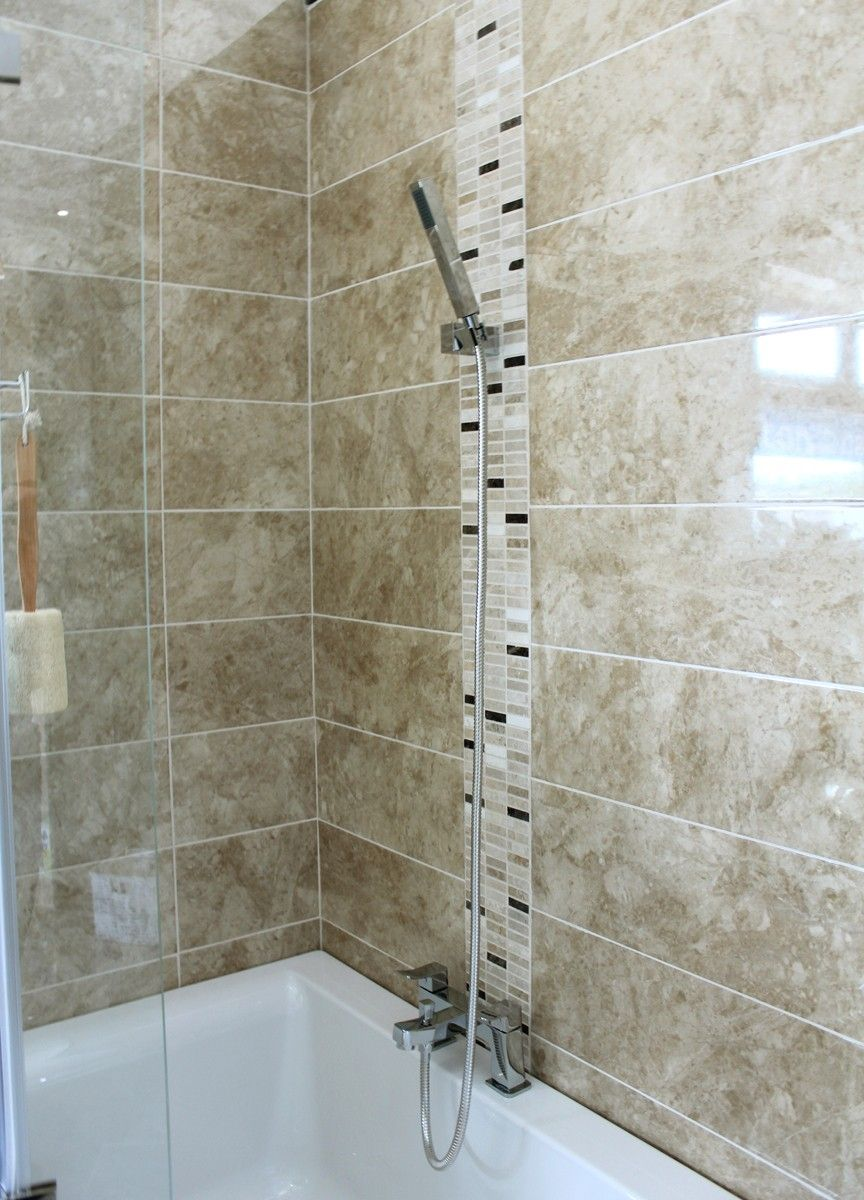 Galore noce is a 60x20cm marble effect ceramic wall tile gloss galore noce is a 60x20cm marble effect ceramic wall tile gloss finish dark beige colour dailygadgetfo Choice Image