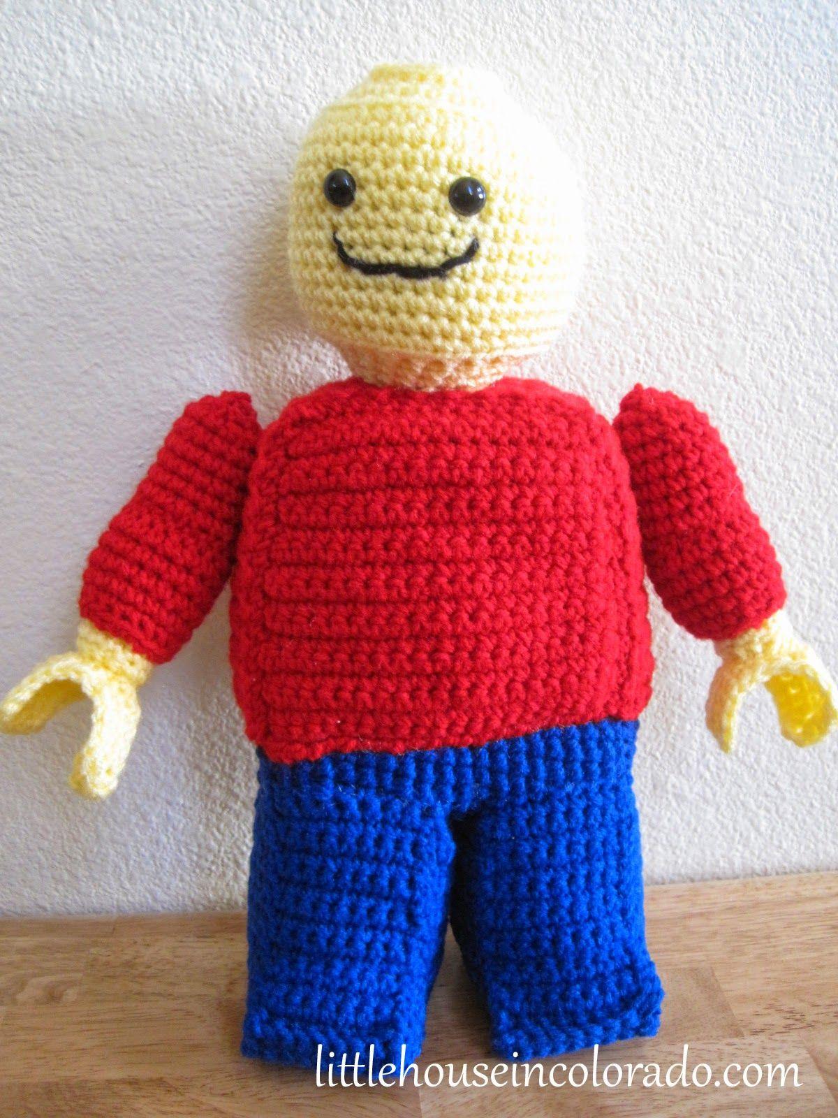 Kleines Haus in Colorado: Muster für Amigurumi Crochet Lego ...
